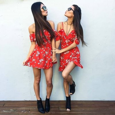 \\\Zaful Woman Jumpsuit Spring And Summer Floral Printing Sexy Style Off-the-shoulder And Ruffles Design Mini JumpsuitShorts<br>\\\Zaful Woman Jumpsuit Spring And Summer Floral Printing Sexy Style Off-the-shoulder And Ruffles Design Mini Jumpsuit<br>