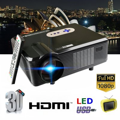 Home Theater Native 720p support 1080p Led projector Digital TV UK