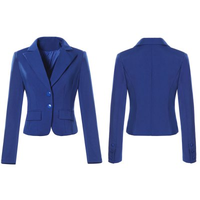 Kenancy Womens Spring Autumn Long Sleeve Turn Down Collar Button  Pocket Wear to Work Office Business Casul Slim Blazer Plus Size 4XLBlazers<br>Kenancy Womens Spring Autumn Long Sleeve Turn Down Collar Button  Pocket Wear to Work Office Business Casul Slim Blazer Plus Size 4XL<br>