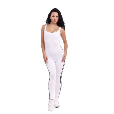 2016 summer sport fashion sexy U-neck backless woman closed-fitting jumpsuitJumpsuits &amp; Rompers<br>2016 summer sport fashion sexy U-neck backless woman closed-fitting jumpsuit<br>