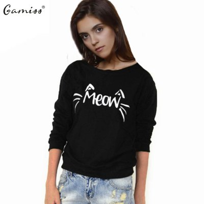 Plus size hoodie 2016 new arrival casual hoodies woman cartoon printing plus velvet loose top