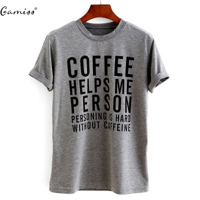 2016 new arrival summer style basic top woman casual letters printed t-shirt...