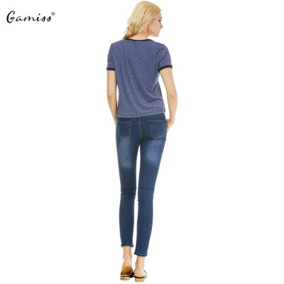 2016 new fashion round neck bump color woman short sleeve casual T-shirtTees<br>2016 new fashion round neck bump color woman short sleeve casual T-shirt<br>