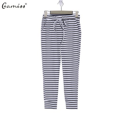 2016 new arrival summer style sport pants woman casual strip and pocket design pantsPants<br>2016 new arrival summer style sport pants woman casual strip and pocket design pants<br>