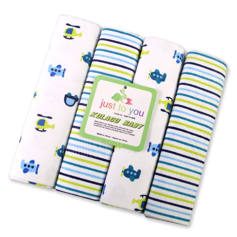Buy Pcs/Pack 100% cotton supersoft flannel receiving baby blanket bedsheet 76*76CM blankets cars AIRPLANES