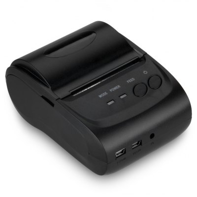 Portable Bluetooth Wireless 58mm Thermal Dot Receipt Printer