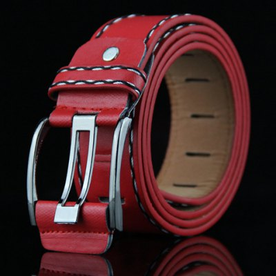 Retro Style Pin Buckle Belt For Men