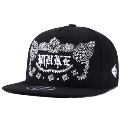 Gothic Letters and Paisley Embroidery Baseball Cap For Men