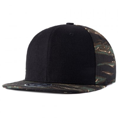 Camouflage Pattern Matching Baseball Cap For Men