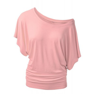 Stylish Boat Neck Short Sleeve Solid Color T-Shirt For WomenWomens T-Shirts<br>Stylish Boat Neck Short Sleeve Solid Color T-Shirt For Women<br><br>Material: Lace,Polyester<br>Clothing Length: Regular<br>Sleeve Length: Short<br>Collar: Boat Neck<br>Style: Fashion<br>Season: Summer<br>Pattern Type: Solid<br>Weight: 0.370KG<br>Package Contents: 1 x Blouse
