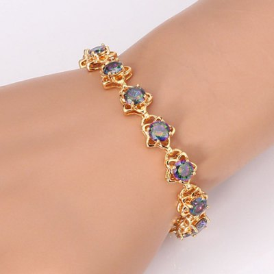 Exquisite Rhinestone Star Shape Bracelet For WomenBracelets &amp; Bangles<br>Exquisite Rhinestone Star Shape Bracelet For Women<br><br>Item Type: Chain &amp; Link Bracelet<br>Gender: For Women<br>Chain Type: Link Chain<br>Style: Lolita<br>Shape/Pattern: Star<br>Length: 18CM<br>Weight: 0.067KG<br>Package Contents: 1 x Bracelet