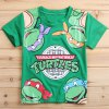 Buy Stylish Short Sleeve Round Neck Ninja Turtles Pattern Boy's T-Shirt-9.07 Online Shopping GearBest.com