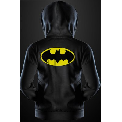 Fashion Drawstring Hooded Cartoon Batman Print Front Pocket Long Sleeves Hoodie For MenMens Hoodies &amp; Sweatshirts<br>Fashion Drawstring Hooded Cartoon Batman Print Front Pocket Long Sleeves Hoodie For Men<br><br>Material: Cotton Blends<br>Clothing Length: Regular<br>Sleeve Length: Full<br>Style: Fashion<br>Weight: 0.550KG<br>Package Contents: 1 x Hoodie