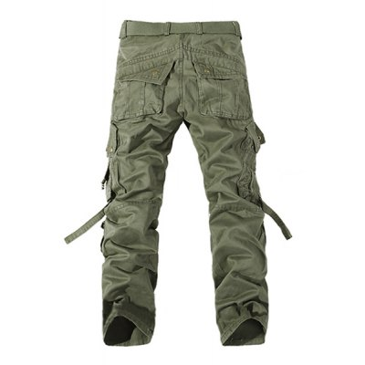 Casual Loose Fit Multi-Pockets Zip Fly Solid Color Cargo Pants For MenMens Pants<br>Casual Loose Fit Multi-Pockets Zip Fly Solid Color Cargo Pants For Men<br><br>Style: Casual<br>Material: Cotton Blends<br>Fit Type: Regular<br>Waist Type: Mid<br>Front Style: Flat<br>Weight: 0.750KG<br>Pant Length: Long Pants<br>Pant Style: Cargo Pants<br>Package Contents: 1 x Pants