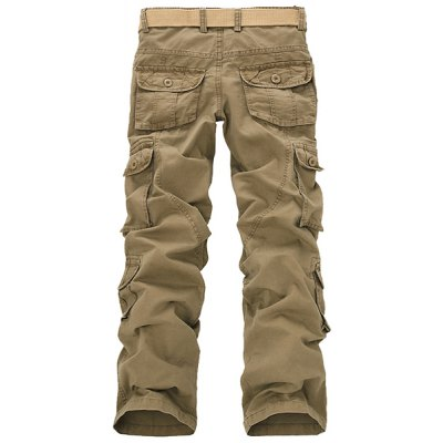 Casual Loose Fit Solid Color Multi-Pockets Zip Fly Cargo Pants For MenMens Pants<br>Casual Loose Fit Solid Color Multi-Pockets Zip Fly Cargo Pants For Men<br><br>Style: Casual<br>Material: Cotton Blends<br>Fit Type: Regular<br>Waist Type: Mid<br>Front Style: Flat<br>Weight: 0.810KG<br>Pant Length: Long Pants<br>Pant Style: Cargo Pants<br>Package Contents: 1 x Pants