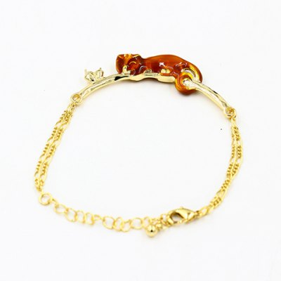 Sweet Squirrel and Nut Shape Bracelet For Women