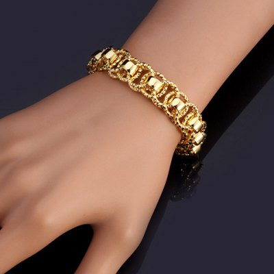 Stunning Solid Color Hollow Out Bracelet For Women