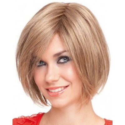 Stunning Short Straight Capless Vogue Side Bang Light Brown Synthetic Wig For WomenSynthetic Hair Wigs<br>Stunning Short Straight Capless Vogue Side Bang Light Brown Synthetic Wig For Women<br><br>Type: Full Wigs<br>Cap Construction: Capless<br>Style: Straight<br>Material: Synthetic Hair<br>Bang Type: Side<br>Length: Short<br>Length Size(CM): 32<br>Weight: 0.190KG<br>Package Contents: 1 x Wig