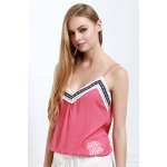 Stylish Spaghetti Strap Laciness Women's Tank Top deal