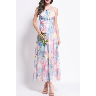 Bohemia Style Halter Colorful Floral Print A-Line Dress For WomenWomens Dresses<br>Bohemia Style Halter Colorful Floral Print A-Line Dress For Women<br><br>Style: Bohemian<br>Material: Polyester<br>Silhouette: Beach<br>Dresses Length: Ankle-Length<br>Neckline: Halter<br>Sleeve Length: Sleeveless<br>Pattern Type: Floral<br>With Belt: No<br>Season: Summer<br>Weight: 0.260KG<br>Package Contents: 1 x Dress