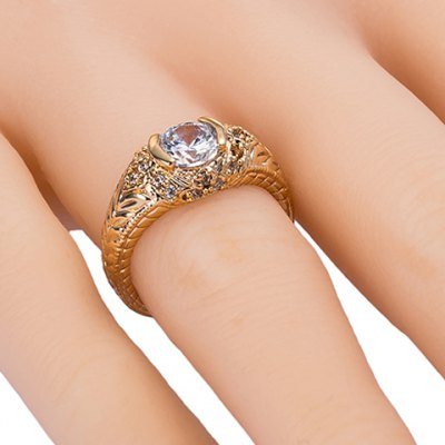 Noble Rhinestone Alloy Carving Ring For WomenRings<br>Noble Rhinestone Alloy Carving Ring For Women<br><br>Gender: For Women<br>Material: Rhinestone<br>Metal Type: Copper<br>Style: Trendy<br>Shape/Pattern: Others<br>Diameter: 1.7CM<br>Weight: 0.055KG<br>Package Contents: 1 x Ring