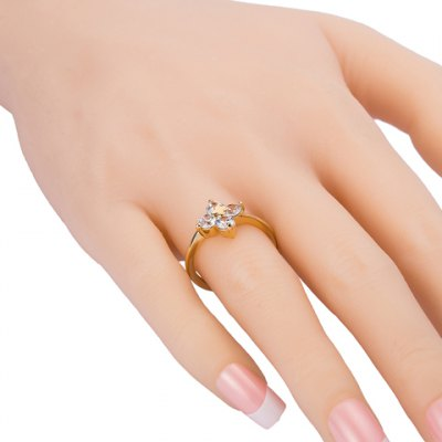 Graceful Rhinestone Clover Cross Shape Ring For WomenRings<br>Graceful Rhinestone Clover Cross Shape Ring For Women<br><br>Gender: For Women<br>Metal Type: Copper Alloy<br>Style: Trendy<br>Shape/Pattern: Plant<br>Diameter: 1.7CM<br>Weight: 0.051KG<br>Package Contents: 1 x Ring