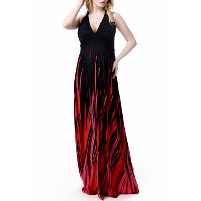 Sexy Halter Neck Sleeveless Ombre Plus Size Prom Dress For WomenWomens Dresses<br>Sexy Halter Neck Sleeveless Ombre Plus Size Prom Dress For Women<br><br>Style: Sexy &amp; Club<br>Material: Polyester<br>Silhouette: A-Line<br>Dresses Length: Floor-Length<br>Neckline: Halter<br>Sleeve Length: Sleeveless<br>Pattern Type: Patchwork<br>With Belt: No<br>Season: Summer<br>Weight: 0.510KG<br>Package Contents: 1 x Dress