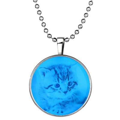 Sweet Round Cat Beads Necklace For Women