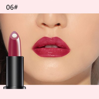 10 Colours Natural Red Wine Polyphenol Gel Filling Glossy Moisturizing Lipstick