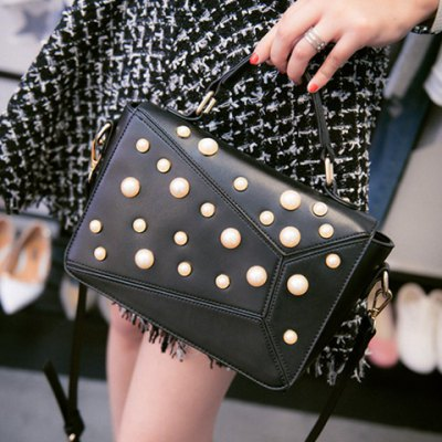 Elegant Faux Pearl and PU Leather Design Tote Bag For WomenWomens Bags<br>Elegant Faux Pearl and PU Leather Design Tote Bag For Women<br><br>Handbag Type: Totes<br>Style: Fashion<br>Gender: For Women<br>Embellishment: Beading<br>Pattern Type: Solid<br>Handbag Size: Small(20-30cm)<br>Closure Type: Cover<br>Occasion: Versatile<br>Main Material: PU<br>Weight: 0.700KG<br>Size(CM)(L*W*H): 28*8*16<br>Strap Length: Short:6CM,Long:60-110CM(Adjustable)<br>Package Contents: 1 x Tote Bag