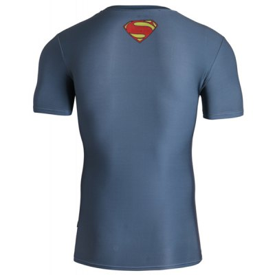 Fitted 3D Superman Print Round Neck Short Sleeve Quick-Dry T-Shirt For MenMens Short Sleeve Tees<br>Fitted 3D Superman Print Round Neck Short Sleeve Quick-Dry T-Shirt For Men<br><br>Material: Cotton,Polyester<br>Sleeve Length: Short<br>Collar: Round Neck<br>Style: Fashion<br>Weight: 0.206KG<br>Package Contents: 1 x T-Shirt<br>Pattern Type: Print