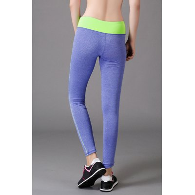 Stylish Color Block Stretchy Yoga Pants For WomenYoga<br>Stylish Color Block Stretchy Yoga Pants For Women<br><br>Style: Fashion<br>Length: Ninth<br>Material: Polyester<br>Fit Type: Skinny<br>Waist Type: Mid<br>Closure Type: Elastic Waist<br>Pattern Type: Patchwork<br>Pant Style: Pencil Pants<br>Weight: 0.370KG<br>Package Contents: 1 x Yoga Pants