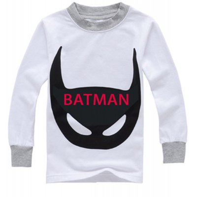 Stylish Bat-Man Print Long Sleeve T-Shirt + Pants Boys LoungewearBoys Clothing<br>Stylish Bat-Man Print Long Sleeve T-Shirt + Pants Boys Loungewear<br><br>Material: Cotton Blends<br>Clothing Length: Regular<br>Sleeve Length: Full<br>Style: Casual<br>Weight: 0.164KG<br>Package Contents: 1 x T-Shirt  1 x Pants