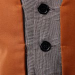 Slimming Single Breasted V-Neck Color Block Waistcoat For Men deal