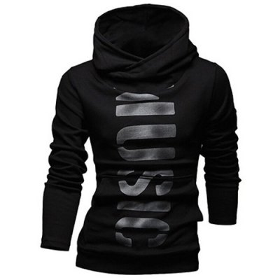 Classic Letters Pattern Front Pocket Fitted Hooded Long Sleeves Hoodie For MenMens Hoodies &amp; Sweatshirts<br>Classic Letters Pattern Front Pocket Fitted Hooded Long Sleeves Hoodie For Men<br><br>Material: Cotton Blends<br>Clothing Length: Regular<br>Sleeve Length: Full<br>Style: Fashion<br>Weight: 0.850KG<br>Package Contents: 1 x Hoodie