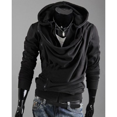 Modish Hooded Multi-Zipper Fold Design Slimming Long Sleeves Hoodie For MenMens Hoodies &amp; Sweatshirts<br>Modish Hooded Multi-Zipper Fold Design Slimming Long Sleeves Hoodie For Men<br><br>Material: Cotton Blends<br>Clothing Length: Regular<br>Sleeve Length: Full<br>Style: Fashion<br>Weight: 0.850KG<br>Package Contents: 1 x Hoodie