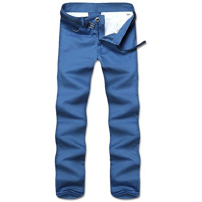 Straight Leg Solid Color Zipper Fly Mens Nine Minutes Of PantsMens Pants<br>Straight Leg Solid Color Zipper Fly Mens Nine Minutes Of Pants<br><br>Style: Casual<br>Material: Cotton Blends<br>Fit Type: Regular<br>Waist Type: Low<br>Closure Type: Zipper Fly<br>Front Style: Flat<br>Weight: 0.188KG<br>Pant Length: Long Pants<br>Pant Style: Straight<br>Package Contents: 1 x Nine Minutes Of Pants