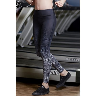 Stylish Elastic Waist Printed Slimming Ninth Yoga Pants For WomenSports Clothing<br>Stylish Elastic Waist Printed Slimming Ninth Yoga Pants For Women<br><br>Gender: For Women<br>Material: Polyester<br>Weight: 0.270KG<br>Package Contents: 1 x Pants
