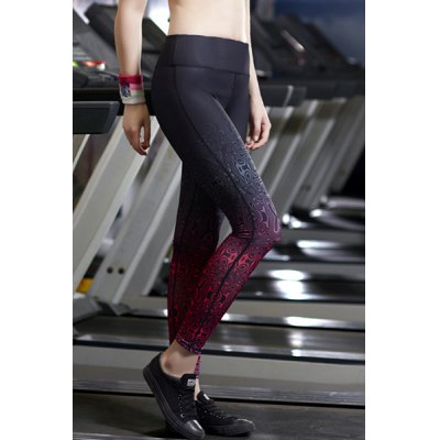 Stylish Elastic Waist Ombre Slimming Ninth Yoga Pants For WomenSports Clothing<br>Stylish Elastic Waist Ombre Slimming Ninth Yoga Pants For Women<br><br>Gender: For Women<br>Material: Polyester<br>Weight: 0.270KG<br>Package Contents: 1 x Pants