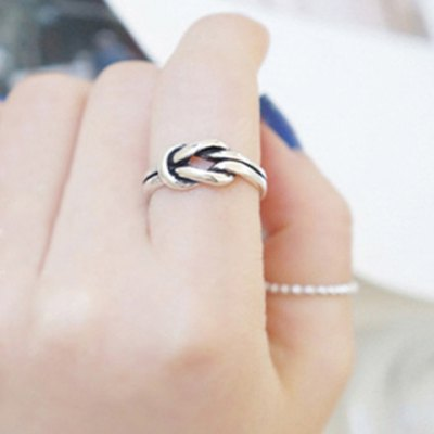 Vintage Twisted Cuff Ring For Women