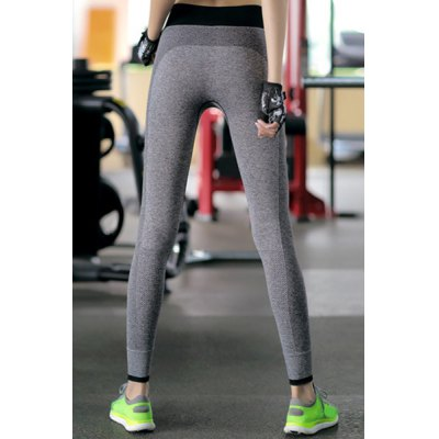 Chic High-Waisted Color Block Slimming Womens Yoga LeggingsYoga<br>Chic High-Waisted Color Block Slimming Womens Yoga Leggings<br><br>Style: Active<br>Length: Ninth<br>Material: Polyester<br>Fit Type: Skinny<br>Waist Type: High<br>Closure Type: Elastic Waist<br>Pattern Type: Patchwork<br>Pant Style: Pencil Pants<br>Weight: 0.180KG<br>Package Contents: 1 x Pants