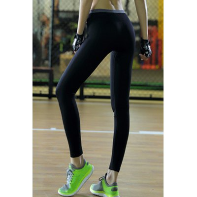 Active High-Waisted Stretchy Spliced Women