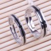Pair of Vintage Alloy Cross Ring For Lovers deal