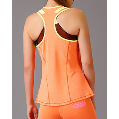 Chic U Neck Sleeveless Double Strap Cut Out Womens Sport Tank TopYoga<br>Chic U Neck Sleeveless Double Strap Cut Out Womens Sport Tank Top<br><br>Material: Polyester<br>Clothing Length: Regular<br>Sleeve Length: Sleeveless<br>Collar: U Neck<br>Pattern Type: Solid<br>Weight: 0.167KG<br>Package Contents: 1 x Tank Top
