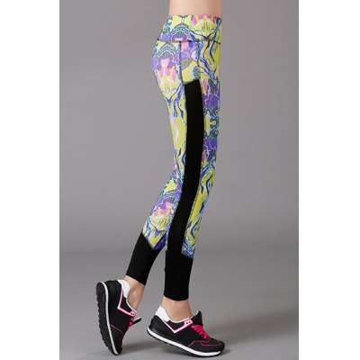 Active High Stretchy Spliced Print Bodycon Womens Yoga PantsYoga<br>Active High Stretchy Spliced Print Bodycon Womens Yoga Pants<br><br>Style: Active<br>Length: Normal<br>Material: Polyester<br>Fit Type: Skinny<br>Waist Type: High<br>Closure Type: Elastic Waist<br>Pattern Type: Print<br>Pant Style: Pencil Pants<br>Weight: 0.230KG<br>Package Contents: 1 x Pants