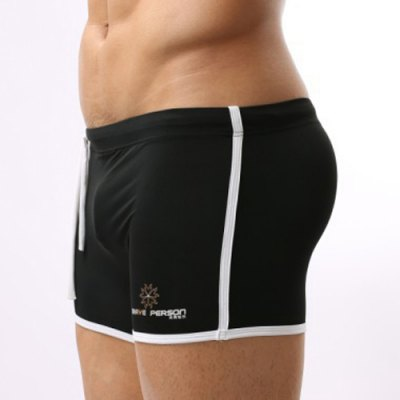 Lace Up Solid Color Sexy Sports Style Mens Swimming TrunksSwimwear<br>Lace Up Solid Color Sexy Sports Style Mens Swimming Trunks<br><br>Gender: For Men<br>Material: Nylon<br>Pattern Type: Solid<br>Swimwear Type: Two-Pieces Separate<br>Waist: Natural<br>Elasticity: Elastic<br>Weight: 0.070KG<br>Package Contents: 1 x Swimming Trunks