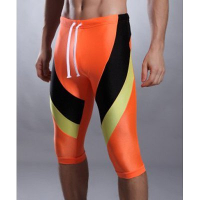 Color Block Lace Up Five Pants Mens Swimming TrunksSwimwear<br>Color Block Lace Up Five Pants Mens Swimming Trunks<br><br>Gender: For Men<br>Material: Nylon<br>Pattern Type: Print<br>Swimwear Type: Two-Pieces Separate<br>Waist: Natural<br>Elasticity: Elastic<br>Weight: 0.220KG<br>Package Contents: 1 x Swimming Trunks