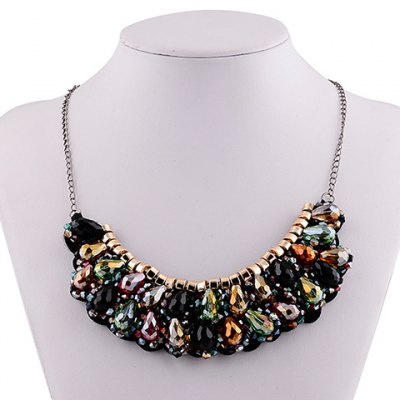 Vintage Exaggerated Water Drop Necklace For WomenNecklaces &amp; Pendants<br>Vintage Exaggerated Water Drop Necklace For Women<br><br>Item Type: Pendant Necklace<br>Gender: For Women<br>Style: Noble and Elegant<br>Shape/Pattern: Water Drop<br>Length: 56CM<br>Weight: 0.090KG<br>Package Contents: 1 x Necklace