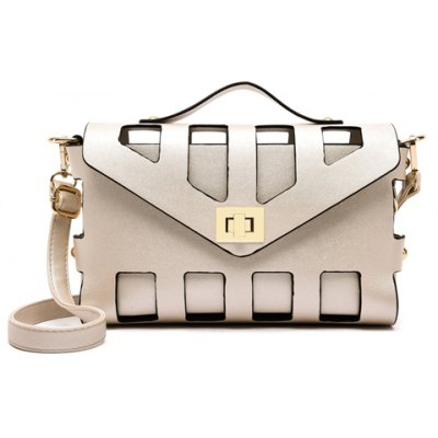 New Arrival PU Leather and Hasp Design Tote Bag For Women