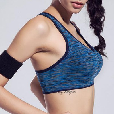 Active Scoop Neck Sleeveless Spliced Wire Free Sports Bra For WomenYoga<br>Active Scoop Neck Sleeveless Spliced Wire Free Sports Bra For Women<br><br>Materials: Polyester<br>Bra Style: Push Up<br>Cup Shape: Full Cup<br>Support Type: Wire Free<br>Strap Type: Non-Convertible Straps<br>Closure Style: None<br>Pattern Type: Patchwork<br>Embellishment: None<br>Weight: 0.270KG<br>Package Contents: 1 x Sports Bra